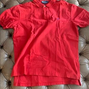 Red Ralph Lauren polo